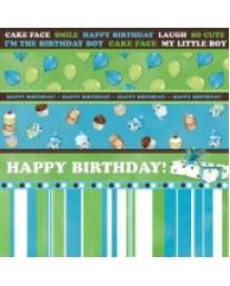 Birthday Boy Stripe