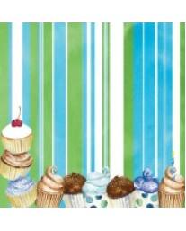 Cupcake Stripe