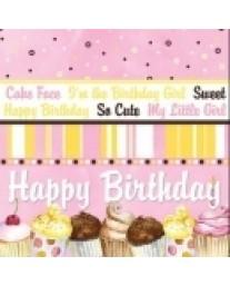Birthday Girl Stripe