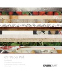 "Bon Appetit 6.5"" x 6.5"" Paper Pad"