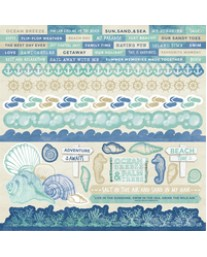 Coastal Escape Sticker Sheet