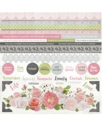 Cottage Rose Sticker Sheet
