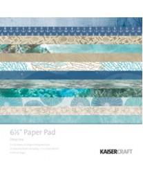 "Deep Sea 6.5"" Paper Pad PP1058"