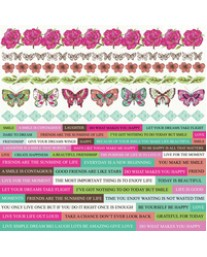 Fly Free Sticker Sheet SS289