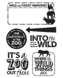 Into the Wild Clear Stamps