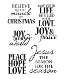 Holy Night Clear Stamps CS235