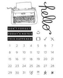 My Year, My Story Clear Stamps