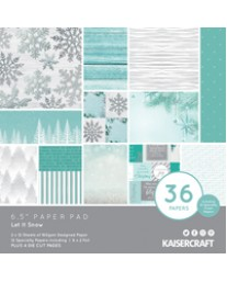 """Let It Snow 6.5"""" Paper Pad PP1074"""