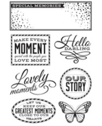 All that Glitters Clear Stamps