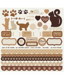 Furry Friends - Cat sticker sheet