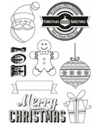 Gingerbread Clear Stamps CS117