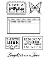 Rustic Harmony Clear Stamps CS189