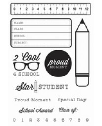 2 Cool 4 School Clear Stamps