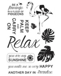 Say Aloha Clear Stamps