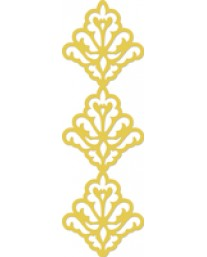 Damask Border decorative die
