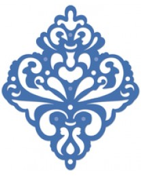 Damask decorative die