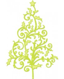 Flourish Tree decorative die