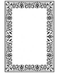 Decorative Frame embossing folder