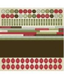 St Nicholas Sticker Sheet - Numbers