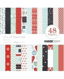 "North Pole 12"" Paper Pad PP219"