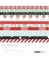 "North Pole 6.5"" Paper Pad"