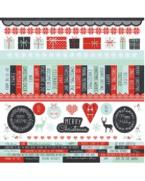 North Pole Sticker Sheet