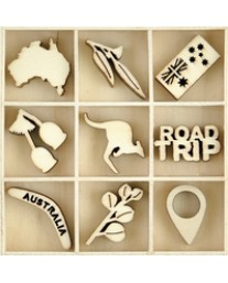 Australiana Wooden Flourish FL615