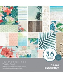 "Paradise Found 12"" Paper Pad"