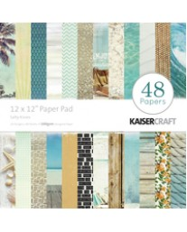 """Salty Kisses 12"""" Paper Pad"""