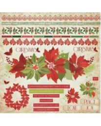 Christmas Carol Sticker Sheet