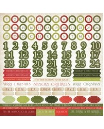 Christmas Carol S/S - Numbers