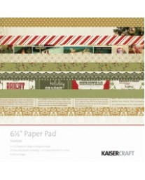 "Yuletide Paper Pad 6.5"""
