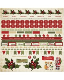 Yuletide Sticker Sheet SS255