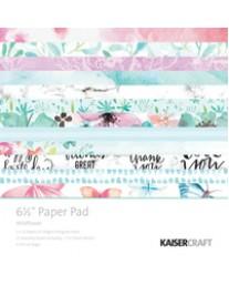 "Wildflower 6.5"" Paper Pad"