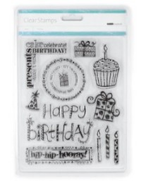 Birthday Clear Stamps