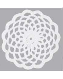White Lace Crochet Doilie