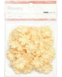 Cream Paper Flowers - Small