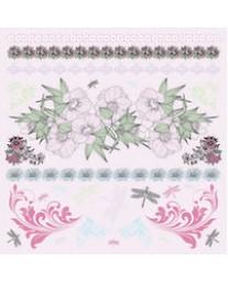 Lavendar Haze Sticker Sheets PS177