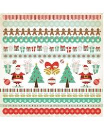 Gingerbread Sticker Sheet SS200