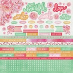 Cherry Blossom Sticker Sheet
