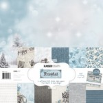 Frosted 12x12 paper pack