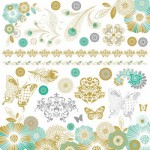 Elegance Sticker Sheet