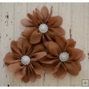 Maddison Flower Pack - Chocolate