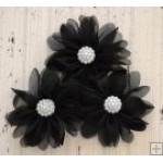 Maddison Flower Pack - Black