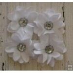 Elise Flower Pack - White