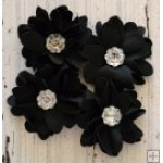 Elise Flower Pack - Black