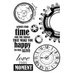 Time Machine Clear Stamps CS236