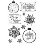 Silver Bells Clear Stamps