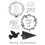 Home for Christmas Clear Stamps