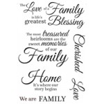 Generations Clear Stamps CS239